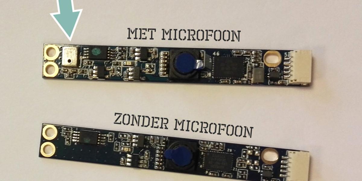 NIEUW 2.0 Megapixel OEM camera met microfoon
