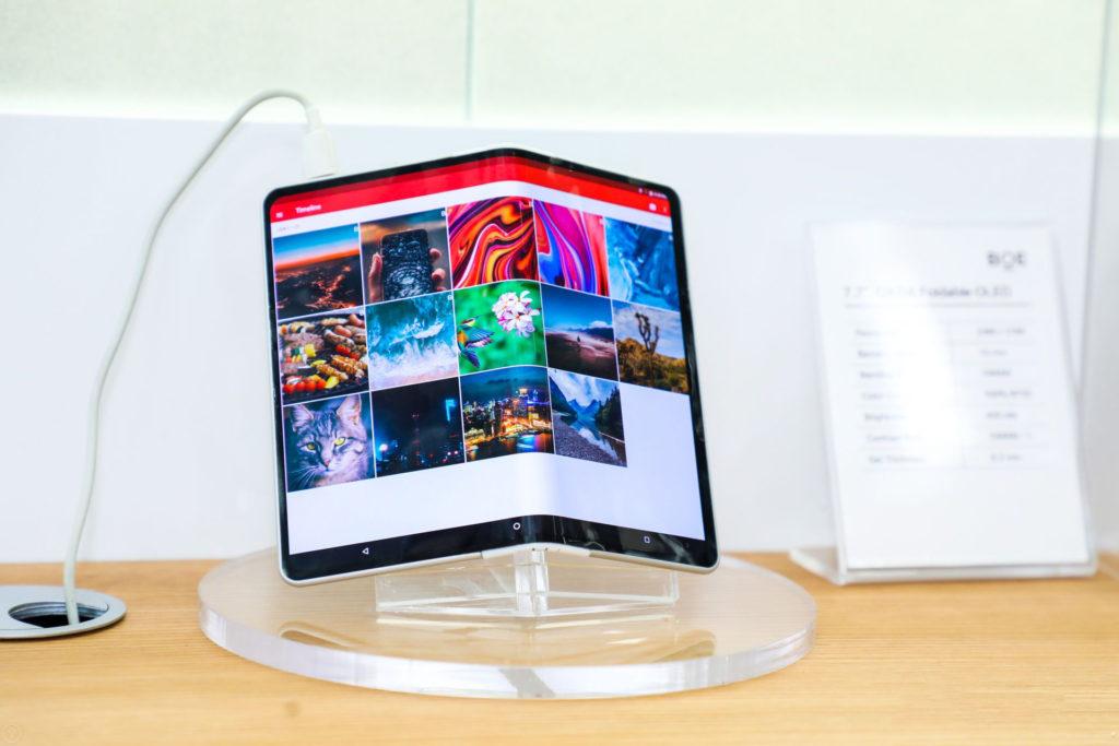 BOE wint award voor flexibele OLED displays