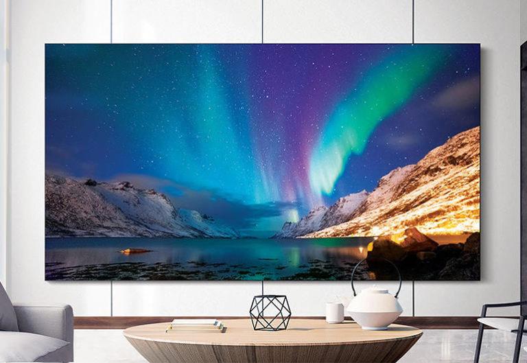 MicroLED display van Samsung